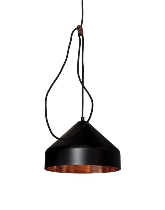 Lloop pendant - Copper/Brass