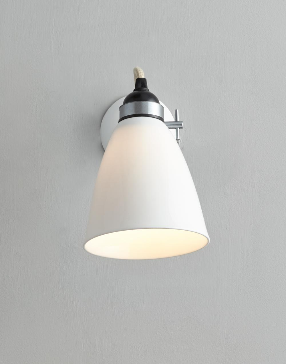 Hector dome wall light